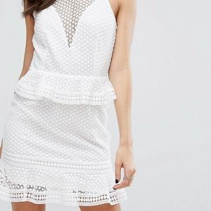 White lace dress from Asos❤️